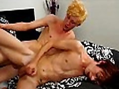 Gay twinks Cody Andrews is sporting some fresh bleached hair when he