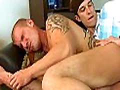 Delightful irrumation for gay stud