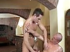 Getting his anal opening screwed