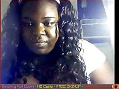 Ebony bbw on cam with great titties ebony Gapingcams.com