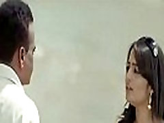Kannada Actress Nikitha Hot cleavage in Blue Dress