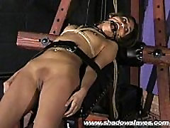 Sahara Knite humiliating face bondage and spanked indian big ass lantina khaliji big butt in harsh