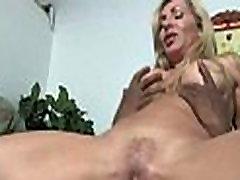 Horny MILF fucks young black stud 30