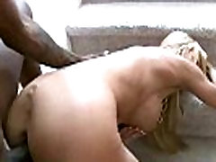 Mature lady gags and gets banged by a black cock 28