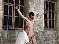 Hot gay sex With his sensitive pouch tugged and his spear jacked and