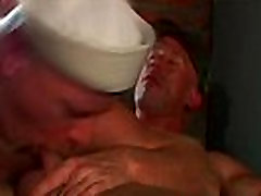 Amazing hot hardcore gay bear porn