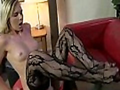Foot fetish - Sexy babes fucking cock with their feet 22