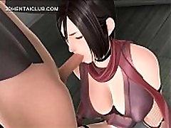 Hot hentai girl tit and mouth fucks big dick