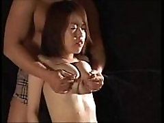 Milk Squirting Japoanese Babe Getting Soaked