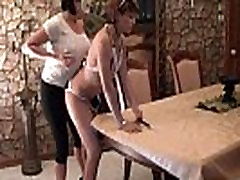 French Maid Bella&rsquos Lesbian Fucking