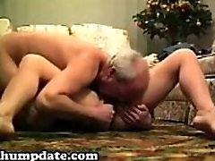 Horny mature babe sucks and rides cock