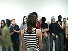 مفلس فتاة في التشيك العصابات الطرف