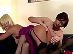 Mature european lesbian play with hot babe in stocking clad sex