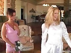 www.DearSX.com - Bride groom and maid of honor join for some sex
