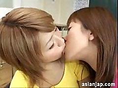 Japanese Lesbian Kiss 8