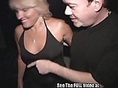 Milf Gangbanged In a Local Tampa Porn Theater