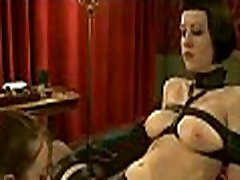 Hot pretty girl dominated in extreme shits on floor sex