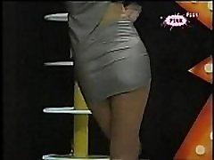 Sneki shiny pantyhose