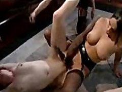 Nasty lesbian BDSM and girl on girl sex