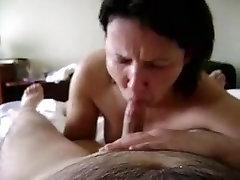 Crazy amateur movie with mature, pov, blowjob, couple, wife scenes