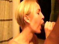 Cute wife with grea zeppelins oral-stimulation and titjob