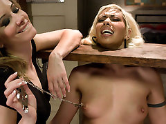 Amazing fetish, west massage asian xxx video with incredible pornstars Satine Phoenix and Maitresse Madeline Marlowe from Whippedass