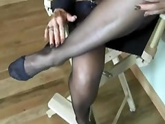 Blair Teases Wearing Simply Classic Brand RHT Nylons