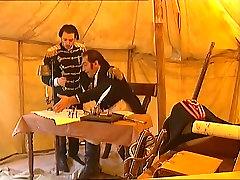 Napoleon themed vintage European porn movie