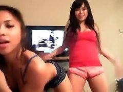 two Hawt Oriental Beauties Dancing
