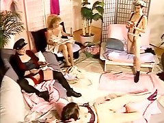 Female group masturbation and squirting