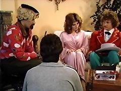 Lois Ayres, Melanie Scott, Herschel Savage in classic xxx video