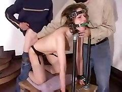Deep Anal Drilling 41 beautiful girl Slut Pain Moaning