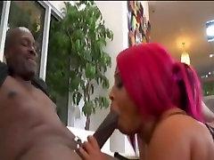 2 Big Booty Ebonys Enjoying Cock