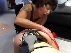 Big booty sluts in kinky sliva sage FFM threesome