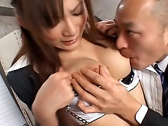 Natsu Ando Office lady gets bukkake in the office