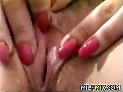 Mature Woman Masturbating In Her Office