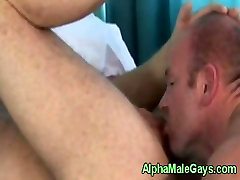 Gay bears dick gets sucked very close up