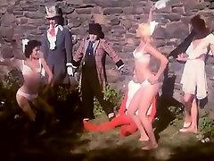Kristine DeBell, Bucky Searles, Gila Havana in vintage porn scene