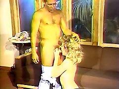 Aja, Lynn LeMay, Megan Leigh in vintage xxx video