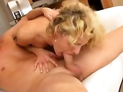 Busty Blonde Cougar Kurwa