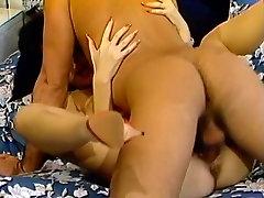 Married couple voyeured as fucking