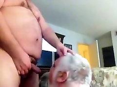 Bear fucking older man