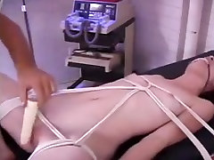 Slave is bound getting her pussy whipped-daddi
