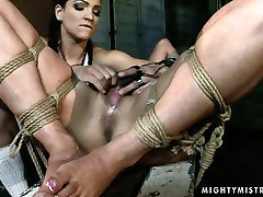 Hardcore ancient abused sex tube video featuring brunette who gets her pussy drilled hard