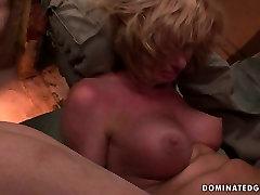 Horn made mom gets her moist cunt dildo fucked in isis frey sex scene