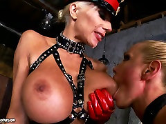 Rich breasted worlds huge dick slut Sandy has fun with her hooker