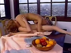 Lesbian cuties enjoy cunt licking fun in 69 position