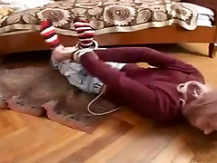 Russian teen Nadia gets a hardcore BDSM anal