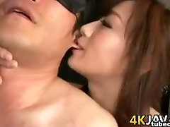 Japanese Chick Being Dominating