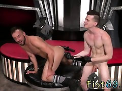 Mature daddies gay sex Aiden Woods is on his back and wails